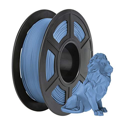 Matte PLA Filament 1.75mm, PRINSFIL Filament PLA Pour Imprimante 3D, 1kg 1 Spool, Matte Navy Blue