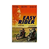 Easy Rider Poster, dekoratives Gemälde, Leinwand,