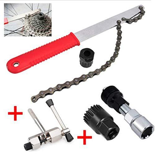 YUIO - Juego de herramientas para la extracción del volante de bicicleta de montaña con código de mosca y eje central (multicolor)