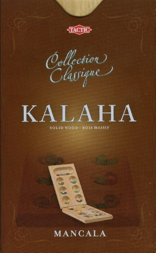 Tactic Collection Classique Kalaha Niños y adultos Estrategia - Juego de tablero, 7 + años, 2 + personas