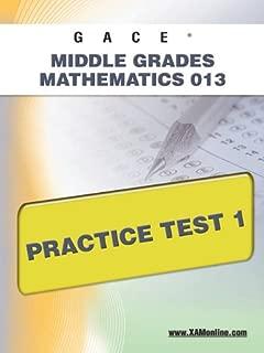 GACE Middle Grades Mathematics 013 Practice Test 1