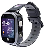 SoyMomo Space 4G - Reloj GPS para niños 4G - Reloj teléfono para niños - Smartwatch 4G con GPS para niños (Negro)