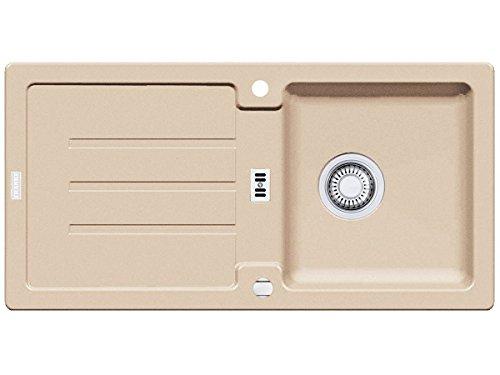 Franke Strata STG 614–Fregadero (Beige fragranit fregadero fregadero de cocina fregadero