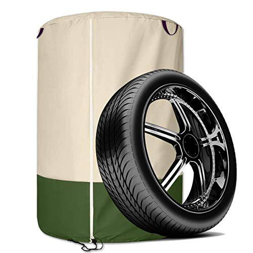 SoGuDio Tire Storage Cover, 26in Waterproof tire Storage Bag, Car Spare tire Cover Suit for...