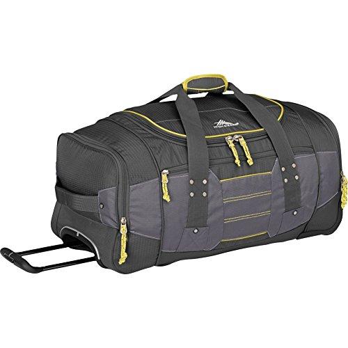 High Sierra Access 2.0 Wheeled Duffel Bag, Mercury, 26-Inch