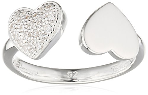 Thomas Sabo Damen-Ring Glam & Soul 925 Sterling Silber Zirkonia weiß Gr. 52 (16.6) TR2082-051-14-52