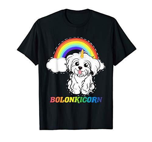 Bolonka Zwetna Unicorn Einhorn Bolonkicorn T-Shirt