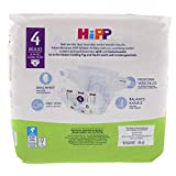 HiPP Babysanft Windeln für Kleinkinder, Geeignet von 8-14 kg, Gr. 4 (74-92), 4 Tragepack, 32 Stück - 6