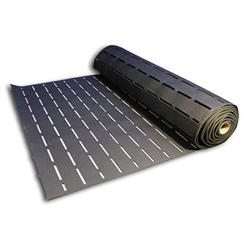 SikaLayer 05, Sous-couche acoustique pour parquet à coller - Isolant phonique, 13,33m x 1,5m, Noir