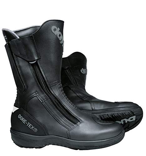 Daytona Boots Motorradschuhe, Motorradstiefel lang Road Star Gore-TEX Stiefel schwarz schmale Passform 47, Unisex, Tourer, Ganzjährig, Leder