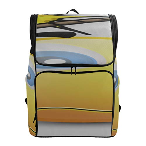 Cartoon Crazy Bomb Crossbody Bag Casual Best College Bags School Bags For Boys Sport Bags For Girls Fits 15.6 Inch Laptop And Notebook Bags For Travel Carryon Backpacks