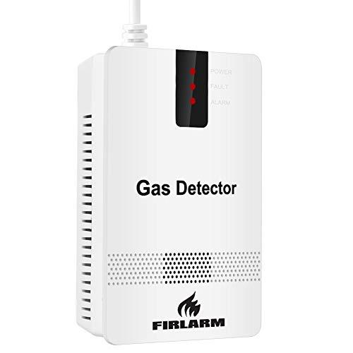 Gasmelder Brennbares LPG Erdgas Methan Propan Butan Leckage Alarm Detektor für Zuhause Küche