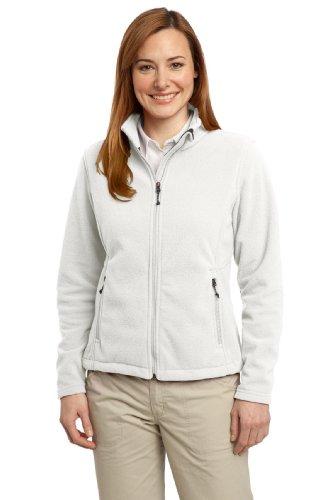 Port Authority® Ladies Value Fleece Jacket. L217 Winter White 4XL
