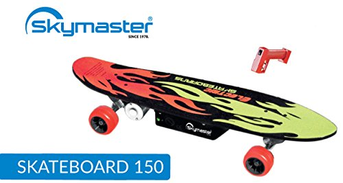Electro Skateboard with Remote Control Skymaster Skateboard 150
