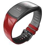 ANBEST Correa de repuesto compatible con Gear Fit 2 Pro, correa de silicona suave para Samsung Gear Fit 2 Pro/Gear Fit 2 Smart Watch