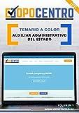 Temario a color Auxiliar Administrativo del Estado: Volumen 1