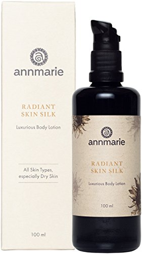 Annmarie Skin Care Radiant Skin Silk - Luxurious Body Lotion with Chamomile, Green Tea + Sunflower Seed Oil (100 Milliliters, 3.4 Fluid Ounces)