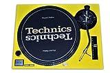 Technics Yellow Face Plate for Technics SL-1200 / SL-1210 MK2 Turntables