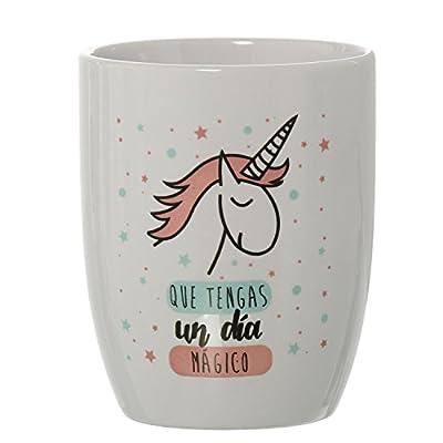 DONREGALOWEB Taza Desayuno Original Unicornio Que tengas un día mágico