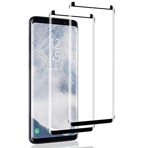 Cristal templado compatible con Samsung Galaxy S8 Plus [2 piezas] Galaxy S8...
