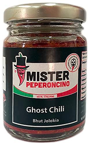 Ghost Chili - Crema di Bhut Jolokia (90 gr) - Mister Peperoncino