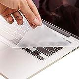 キーボードカバー 防水 ラップトップキーボード保護 シリコンカバー 15.6 14 PCに対応