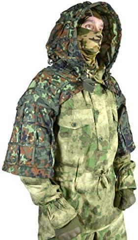 Gearcraft Ghillie Suit Russian Sniper Coats/Viper Hoods