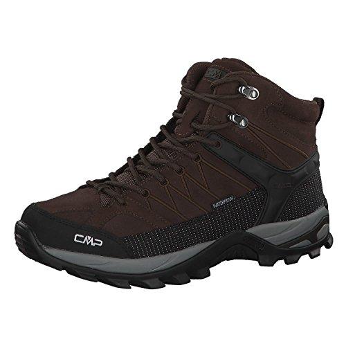 CMP Herren Rigel Mid Shoe Wp Trekking-& Wanderstiefel, Braun (Wood-Adriatico 61bn), 44 EU