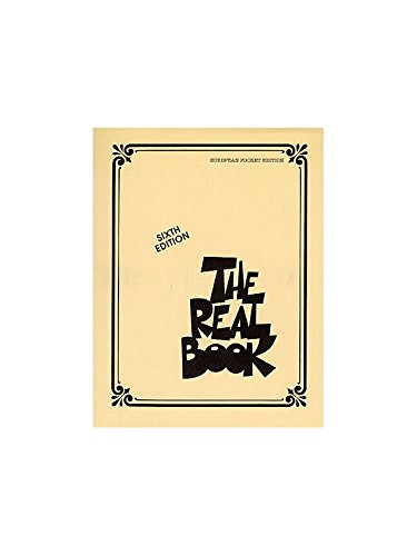 The Real Book - Sixth Edition (Pocket Edition). Partitions pour Ligne De Mélodie et Accords(Symboles d\'Accords), Instruments À C