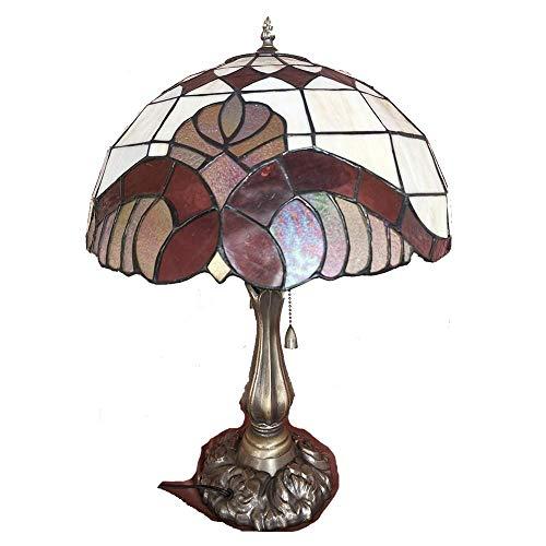 WLP-WF Lámpara de Escritorio Living, Lámpara de Mesa para Decoración Del Hogar Lámpara de Hogar Estilo Retro, Multicolor