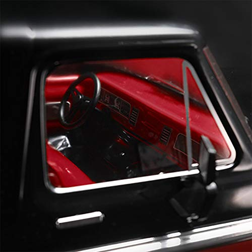 TOOGOO Simuliertes Transparentes Innen Cockpit für 1/10 RC Crawler Auto TRX4 Bronco Ranger