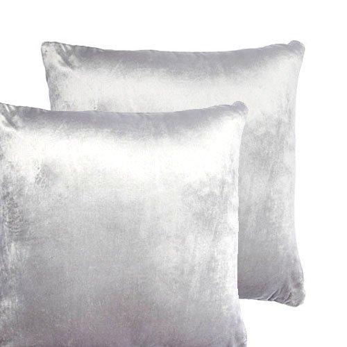 "x4 Brand New Modern Luxury PINSTRIPE Cushion Covers WHITE Colour 18/"" x 18/"" SALE"