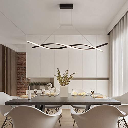 Moderna Lámpara de techo LED Lámpara de salón Candelabro Regulable Lámpara de...