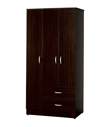 Acme 12248 Olean Wardrobe Set, Espresso Finish