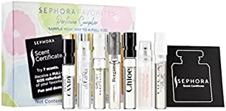 Sephora Favorites Perfume Sampler 7 Scents (Comes with Scent Certificate to Redeem for a Full-Size Rollerball)