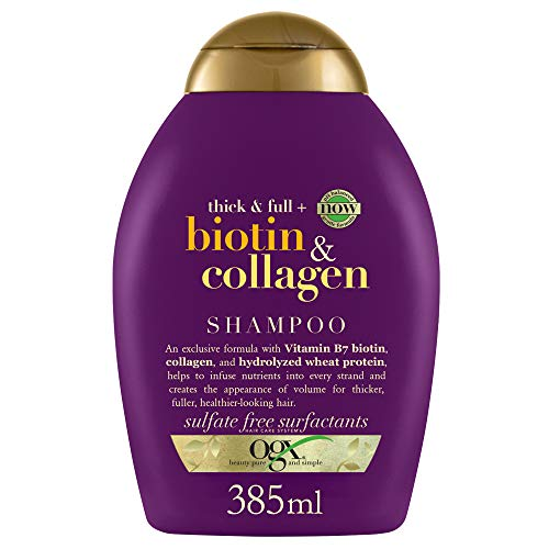 OGX Thick & Full Biotin & Collagen Shampoo, 385 ml