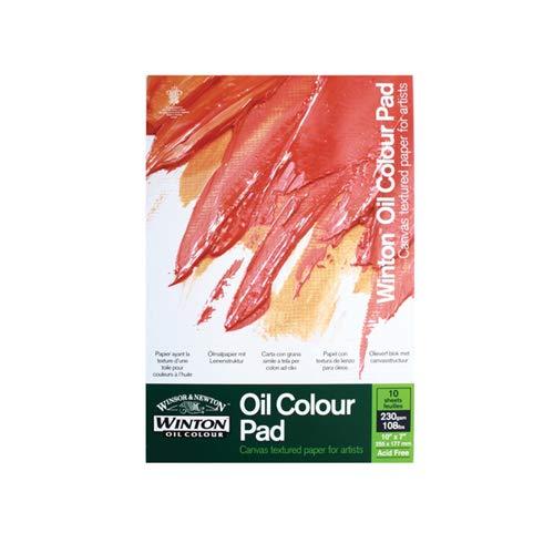 Winsor & Newton Winton Bloc papier pour Huile 230 Gr 406X305mm 10 feuilles