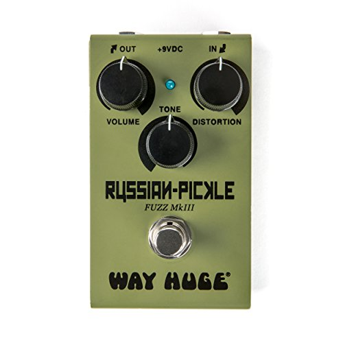 Way Huge Smalls Russian-Pickle Fuzz Guitar Effects Pedal (WM42)