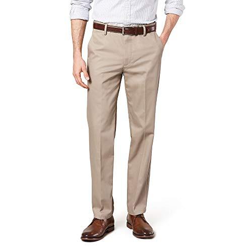 Dockers Men's Slim Fit Stretch Signature Khaki Pant D1, Timberwolf (Stretch), 38W x 30L