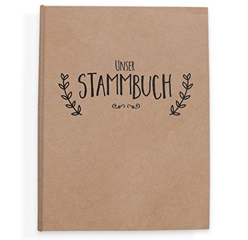 bigdaygraphix Stammbuch der Familie Familienstammbuch zur Hochzeit | 16x21cm Premium Hardcover |...