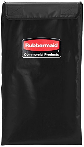 Rubbermaid Commercial Products Commercial X-Cart Bag 150L - Black (Cart not included)
