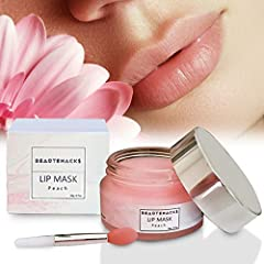 BYE BYE DRY, CHAPPED LIPS: BeauteHacks lip moisturizing mask creates a moisture barrier for intense hydration that lasts! It's the perfect lip moisturizer for very dry lips and the only lip care you need! HELLO SMOOTH LIPS: Wear our lip mask overnigh...