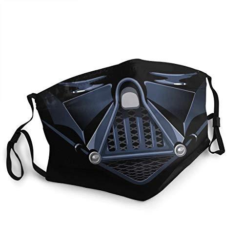 Bandes Bouche Nez - Tissu Lavable réutilisable Absorbant bactériostatique - Star Wars Dark Vador - Haute Qualité Plusieurs Modèles (7)