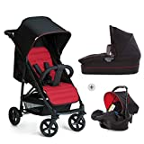 Hauck Rapid 4 Plus Trio Set - Carrito de bebe 3 in 1, de 0 meses a 25 kg,...