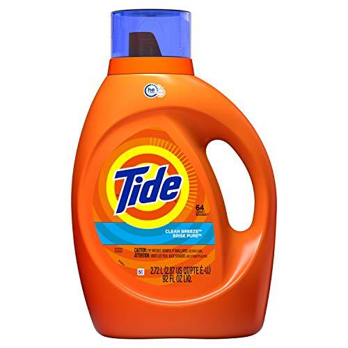 Detergente Tide marca Tide