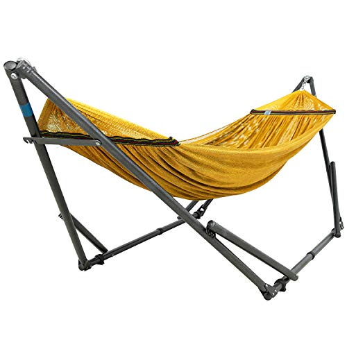 Tranquillo MBHD Hammock Stands, Steel - Yellow