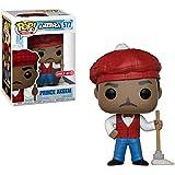Funko Prince Akeem (exclusivo de arget): Figura de vinilo de película de venir a América x POP! y 1 paquete de protector gráfico de plástico PET [#577/30804 - B]