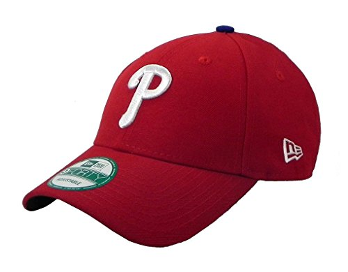 New Era Philadelphia Phillies 9forty Adjustable Cap - MLB The League - Red - Einheitsgröße