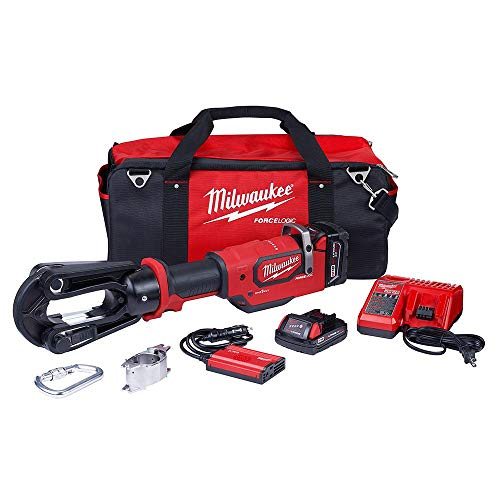 Read About Milwaukee 2879-22 M18 FORCE LOGIC 18V 15 Ton Crimper Kit