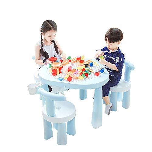 GYiYi Kindertische Und -Stühle, 6-In-1-Kindertische, Plastikspielzeugtisch, Schreiben, Malen, Angeln, Aufbewahren (Für Jungen Und Mädchen Von 1 Bis 8 Jahren)
